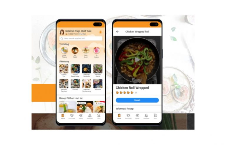 review yummy app, yummy app, yummy app download, yummy app indonesia, yummy resep